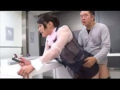 หนังxญี่ปุ่น หยุดเวลาเย็ดหีพนักงานสาวร้านโทรศัพท์ ยืนเย็ดอย่างใจเย็น น้ำเงี่ยนแตกคาแก้มก้น