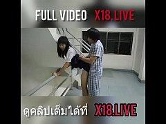 คลิปไทย หนุ่ม ม.6 ตั้งกล้องยืนเย็ดหีแฟนสาว ม.4 คาชุดนักเรียน