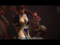 หนังการ์ตูนโป๊HD เย็ดเธอทาสสวาท เมื่อนักสู้นินจาสาวโดนจับตัวไปให้ปีศาจรุมข่มขืน