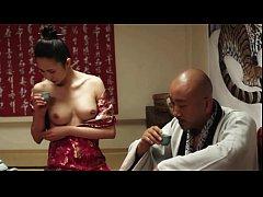 หนังโป๊เกาหลีเก่าๆ Korean Porn แม่บ้านชาวไร่แอบเล่นชู้เย็ดกับผัวเก่าข้างกองฟางในโรงนา