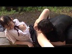 Japanese Forced นักเรียนญี่ปุ่น ม.ต้นดวงซวย โดนข่มขืนต่อเนื่อง บังคับจับเย็ดหีท่ามกลางสายฝน3คน3น้ำ