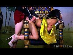 หนังโป๊อียิปต์xxx เจ้าชายโรมันควยใหญ่ปลุกชีพเย็ดหีพระนางคลีโอพัตราบนเก้าอี้กษัตริย์ฟาโรห์