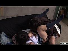 lesbian asian สองสาวนักเรียนสุดน่าเย็ด พากันโดดเรียนมาเล่นหีกันที่บ้าน อย่างเสียว