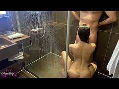 xxx toilet เสียวสยิวคู่รักจัดกันในห้องน้ำ เลิกงานมาก็มีเวลาอยู่ด้วยตอนอาบน้ำ