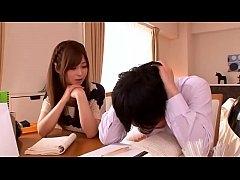 ดูหนัง18ญี่ปุ่น ติวเตอร์สาวขี้เงี่ยนยั่วให้นักเรียนหนุ่มเย็ดหีจนน้ำแตก